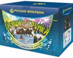 Мега супер салют ПТИЦА-ТРОЙКА